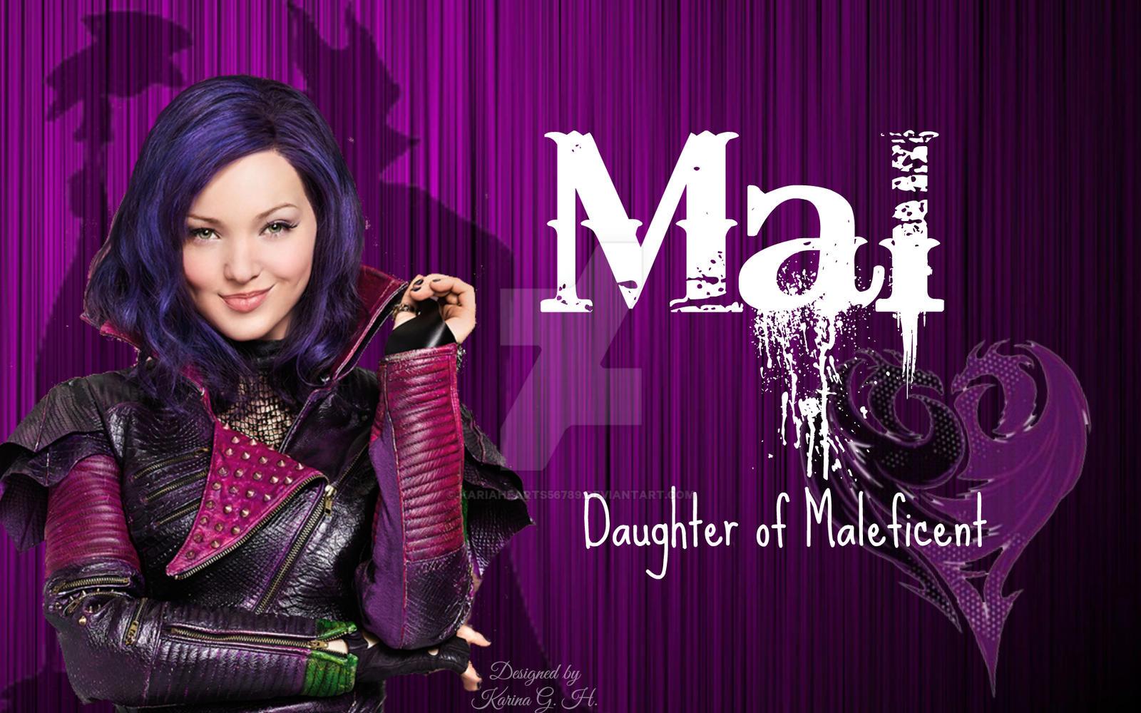 Disney Descendants Mal Daughter Of Maleficent By
