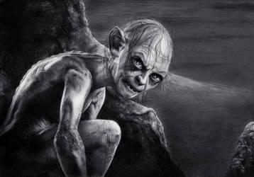 Gollum by Loga90