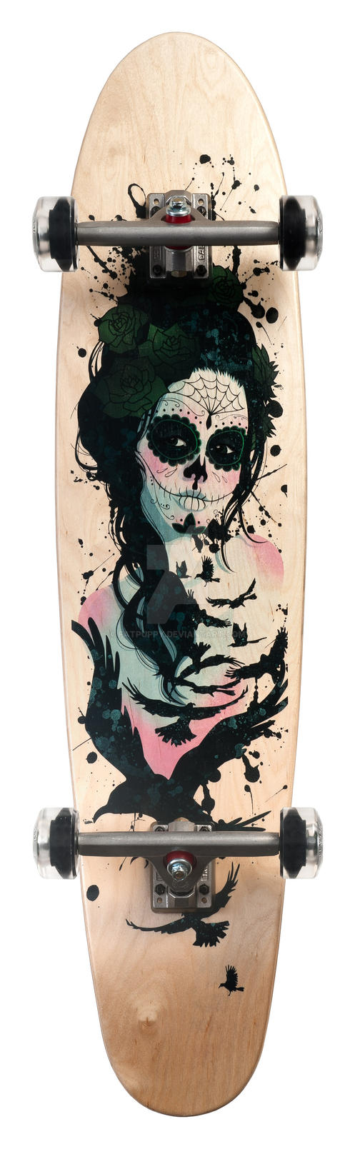 .MUERTOS DECK. by fatpuppy