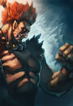 gouki from street fighter