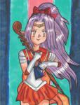 SD3:ToM's Angela as Sailor Venus by VanAkenVerse