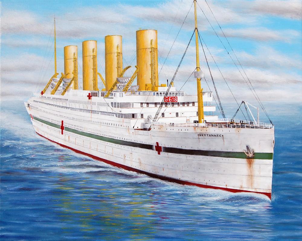британик фото лайнера