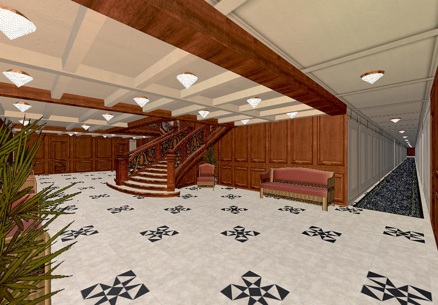 Titanic WIP 186 By Hudizzle