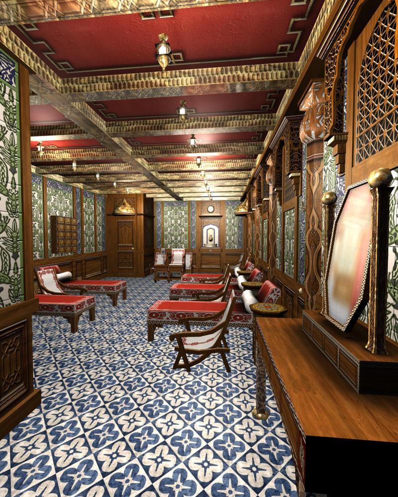 Inside Titanic 2: Titanic Turkish Bath IV By Hudizzle On DeviantArt