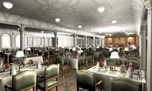 Titanic 1st Dining Saloon I by Hudizzle