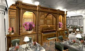 Titanic 1st Dining Saloon VI by Hudizzle