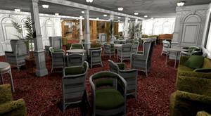 Titanic 1st Class Reception I by Hudizzle