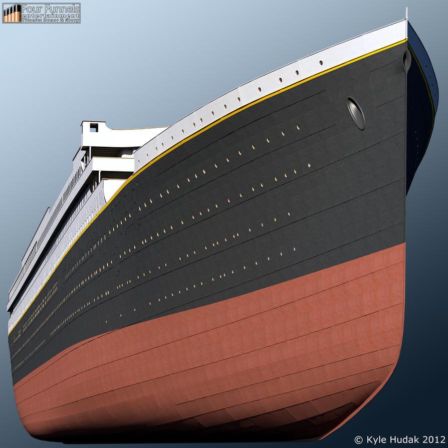 Titanic 2: 'Titanic: Honor And Glory' Exterior Model