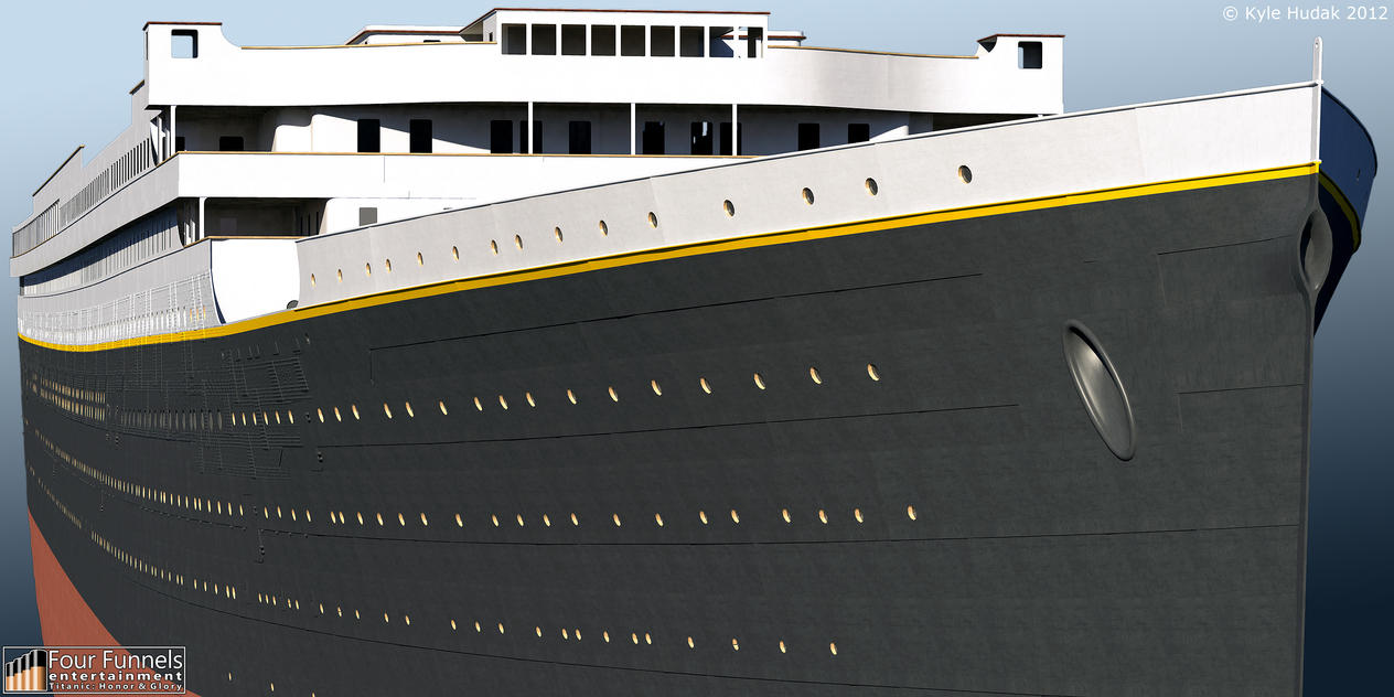 Titanic Honor And Glory Exterior Model 4 By Hudizzle