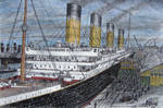 Titanic at Southampton