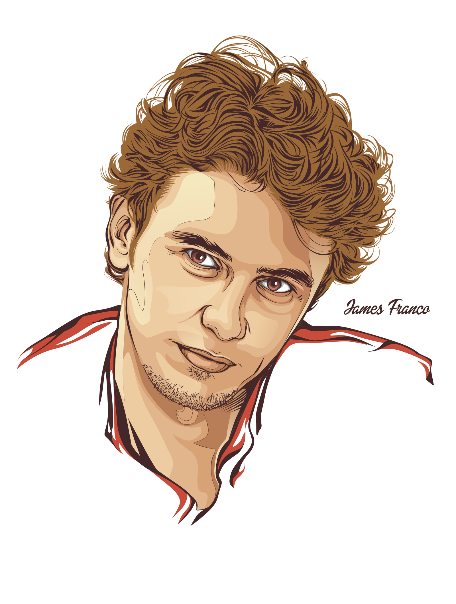 Vector Portrait by Ashary29 on DeviantArt