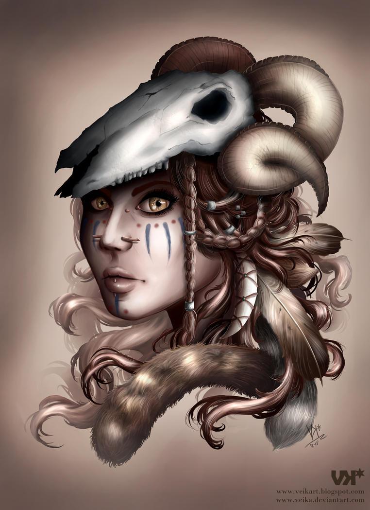 The Huntress by veika
