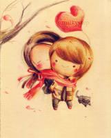 Sohee and Heechul by milkystep