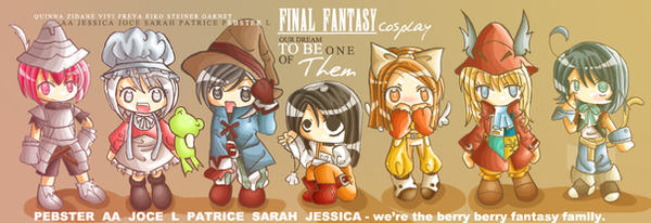 COSPLAY ART - final fantasy IX by milkystep