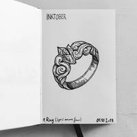 Inktober 2019 - 1.Ring