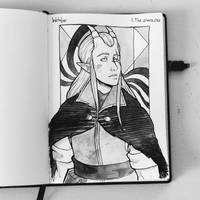 Inktober 2019 - 1.A Character