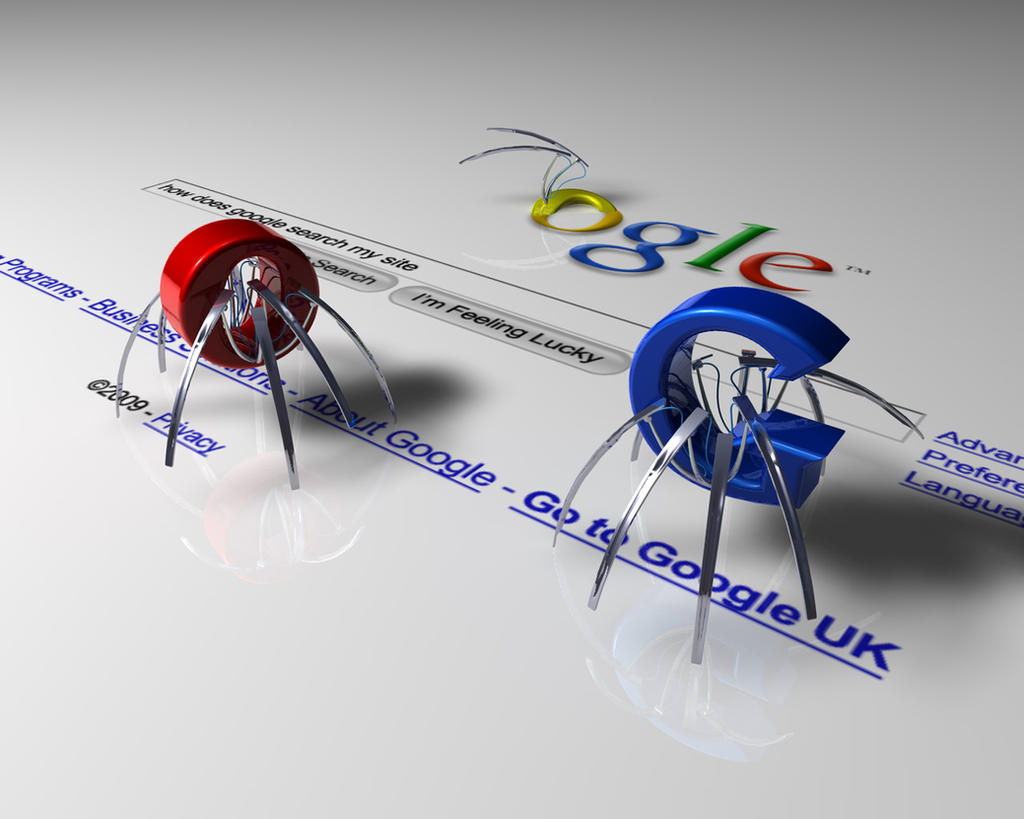 Google Spiders by MsPinkeye