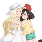 Lillie and Mizuki