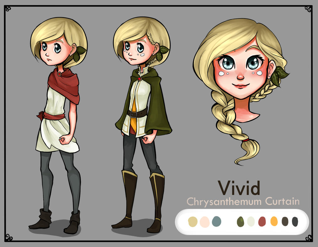 Character Sheet Vivid By Izhigale On Deviantart