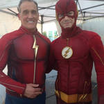 The Flash (of the Future) and Jay Garrick
