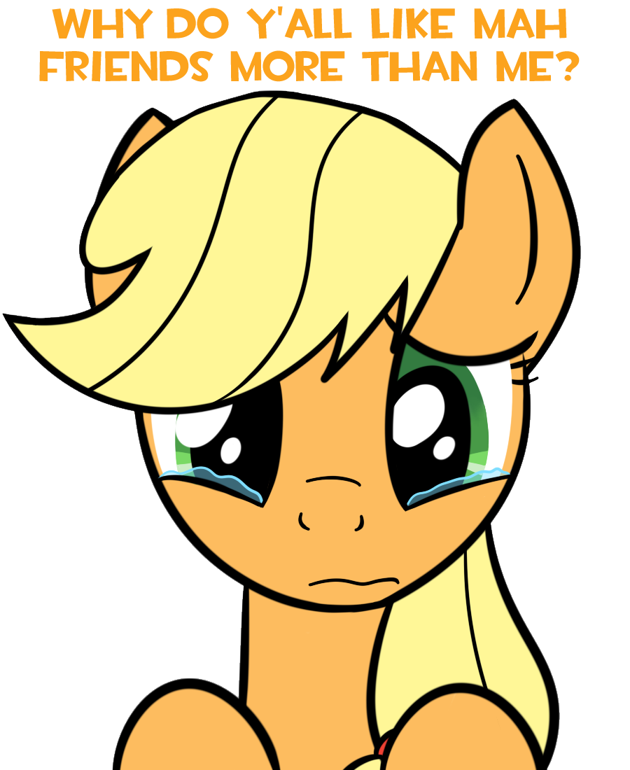 Sad Applejack by Kev-Darkhood, Nov 17, 2012 in Cartoons & Comics Digital Media Cartoons Drawings.