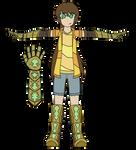 Warriors of Agrohaa - Hikari Kurosaki (Redesign)