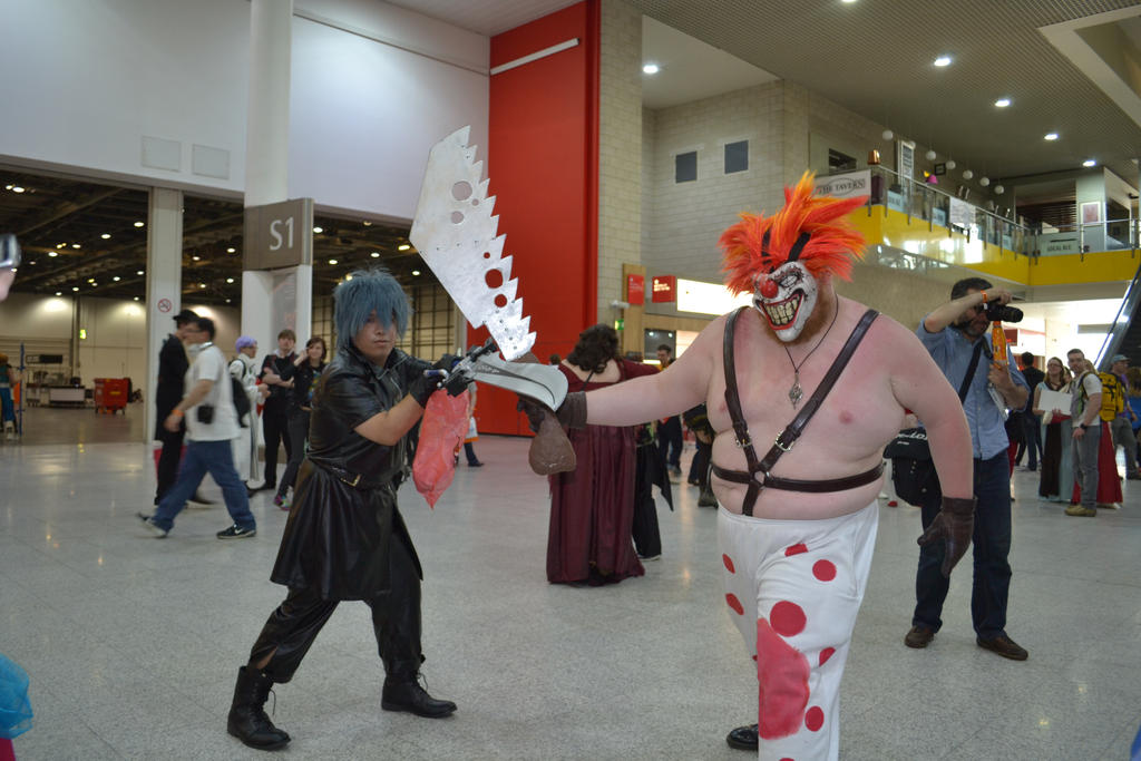 Noctis vs sweet tooth twisted metal by mikeykira on - Sweet tooth wallpaper twisted metal ...