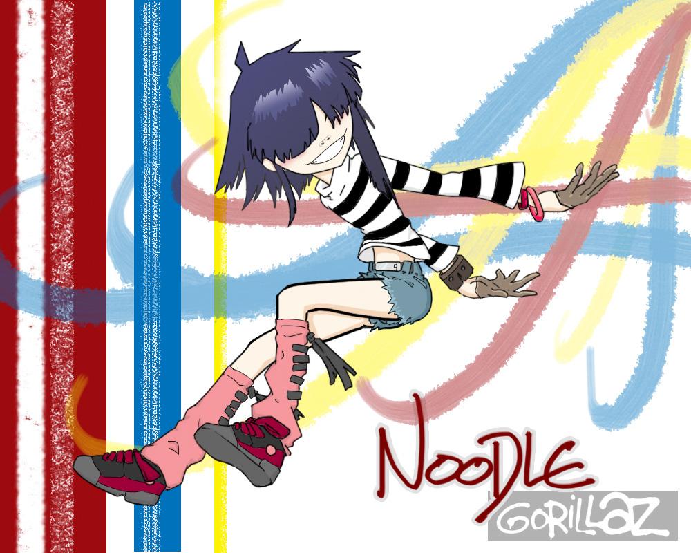 Gorillaz noodle voice