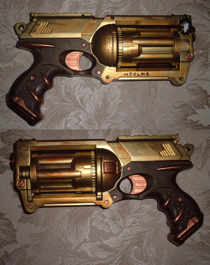 Mjolnir Steam Pistol by Aethergoggles