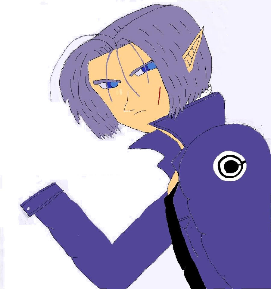 Trunks as an elf by Trunksl