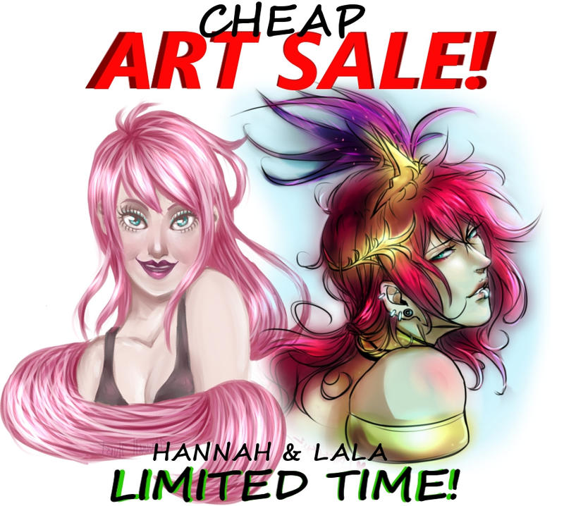 Limited Time    Cheap  Art Sale by ArTLoVer4LiFe