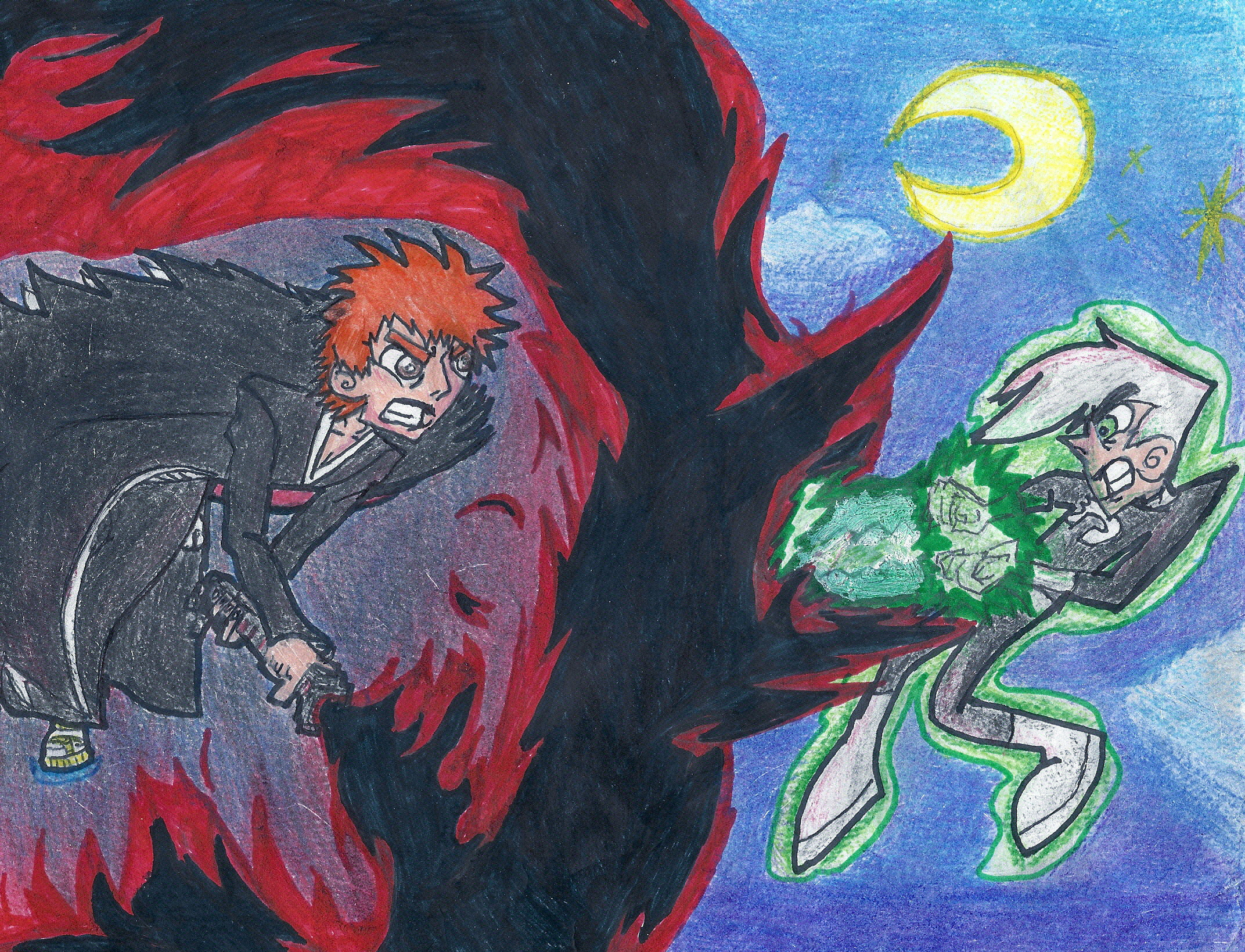 Ichigo Vs Danny Traditionally