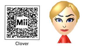 Clover Ewing/Manson mii 3DS QR code