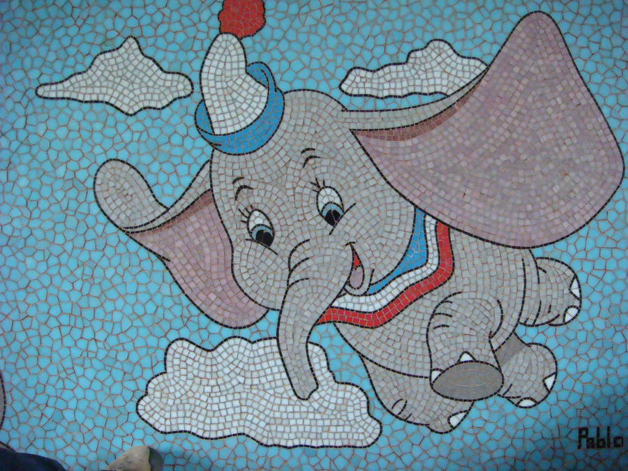 DUMBO, DETAIL by paulbullmosaics