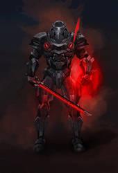 Some sci-fi looking armor