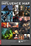 Influence Map - pixelcharlie by pixelcharlie