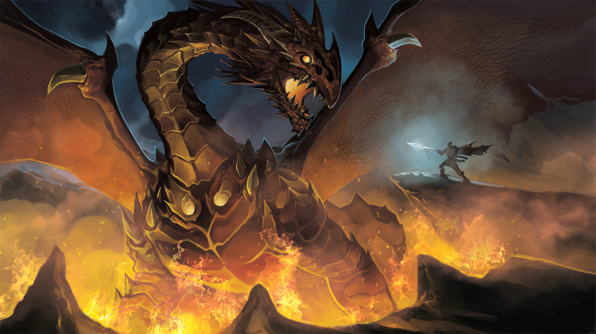 Dragon Slaying... by pixelcharlie