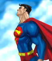 Superman by pixelcharlie