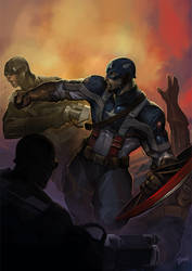 The First Avenger by pixelcharlie