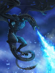 Game of Thrones Fan Art: Viserion Unleashed