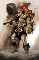 Diablo 2 Barbarian by EnriqueNL