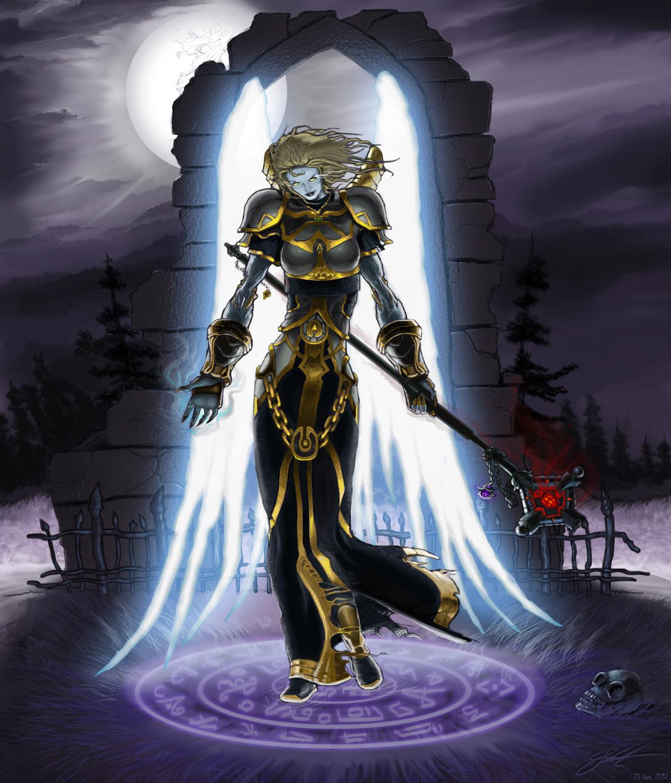 Ariatne The Undead Priest By Enriquenl On Deviantart