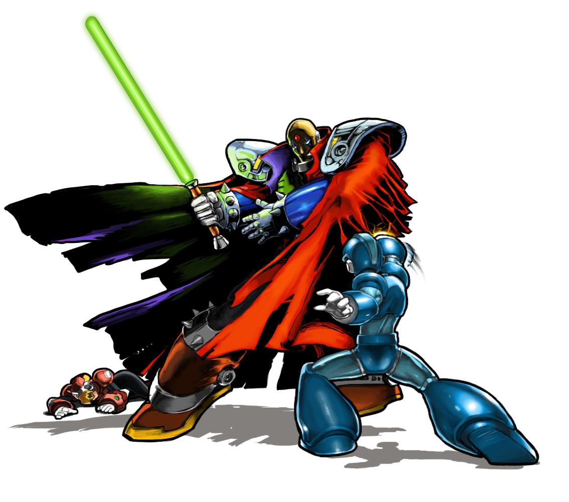 Megaman vs Sigma by En...