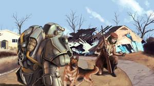 Fallout 4 Traveling