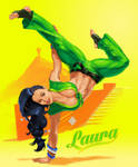 Laura from street Fighter 5