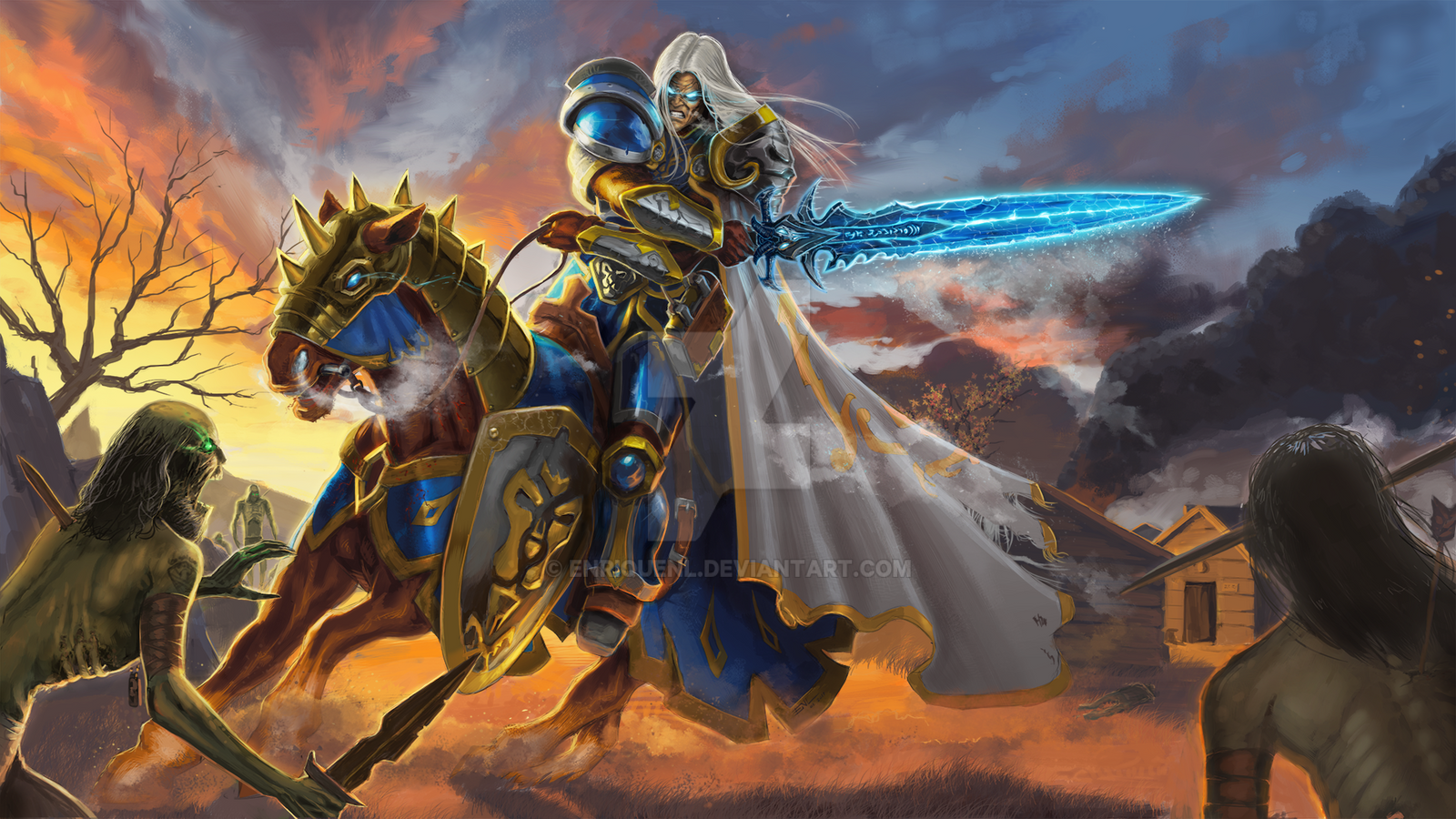 Arthas Menethil, a Prince's dark path. by EnriqueNL on ...