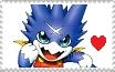 Gumdramon Fan - Stamp by ForbiddenZodiac