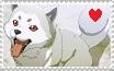 Koromaru Fan - Stamp by ForbiddenZodiac