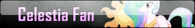 Celestia Fan - Fan Button by ForbiddenZodiac