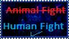 The Fight Isn't That Fun - Stamp by ForbiddenZodiac